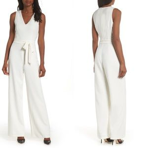 NWT Vince Camuto white jumpsuit